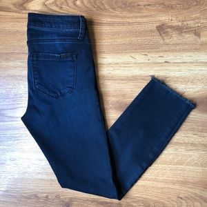 STS Blue Piper Skinny Ankle Crop Jeans Dark Wash